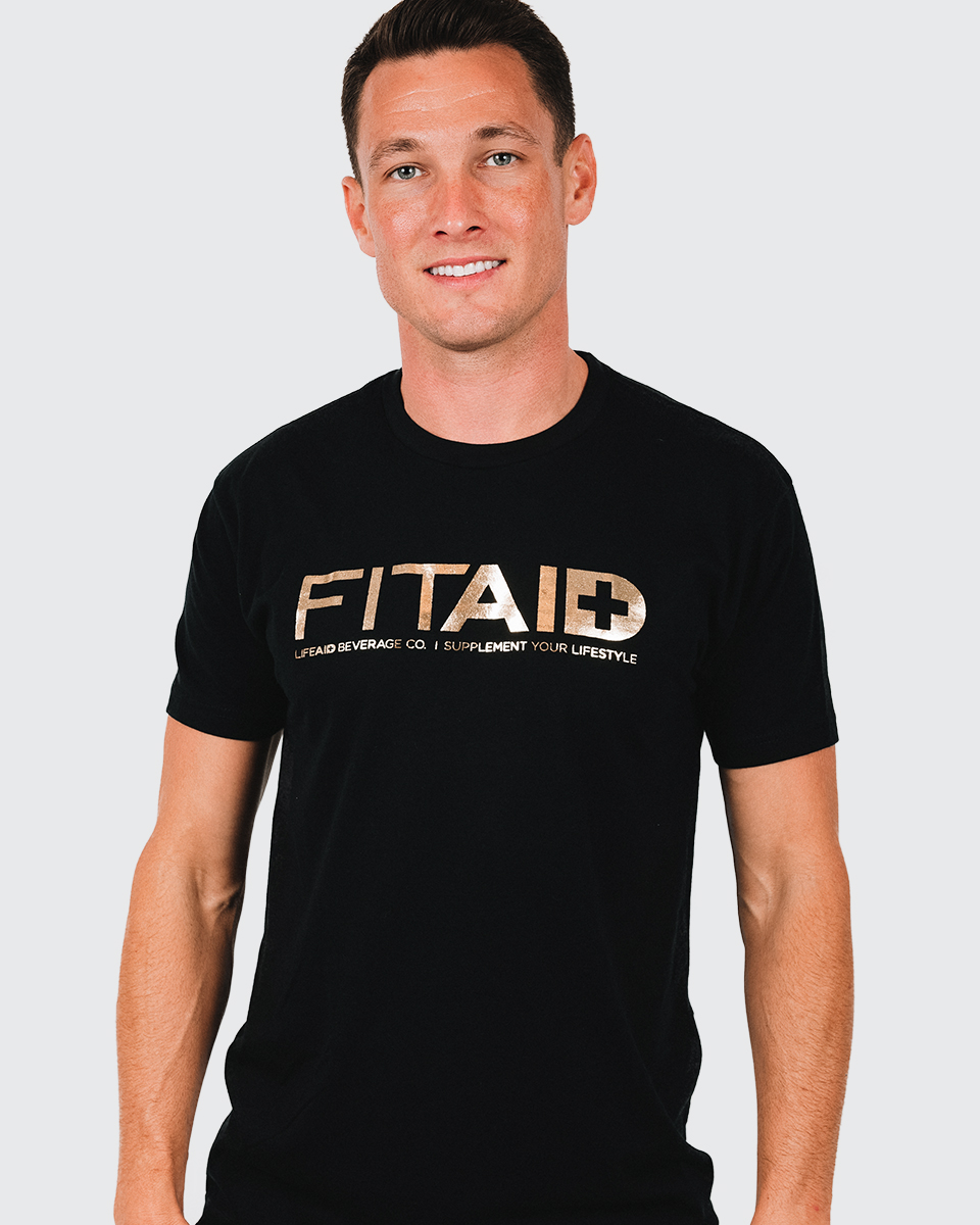 FITAID GOLD T-SHIRT
